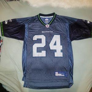 seattle seahawks lynch jersey